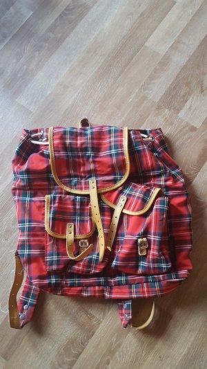 rucksack rot karriert von Reisenthel