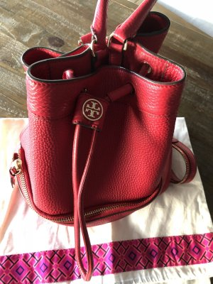 Tory Burch Backpack red leather