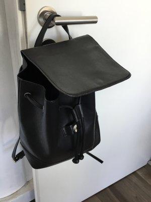 Blue Motion Backpack black