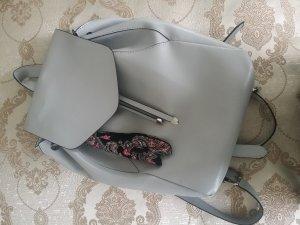 Rucksack Tasche Backpack Zara Grau