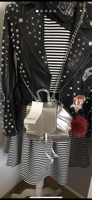 Rucksack Tasche Silver