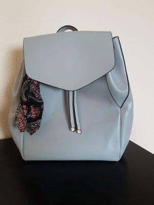 Zara Bolso tipo marsupio azul celeste