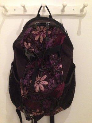 Rucksack von Dakine schwarz-lila