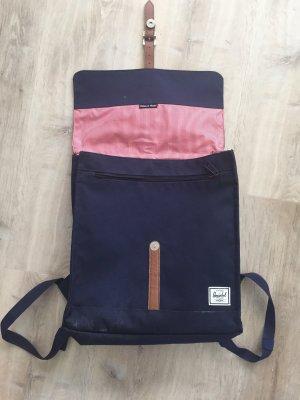 Herschel School Backpack dark blue-red