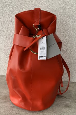 Liebeskind Berlin Pouch Bag red leather