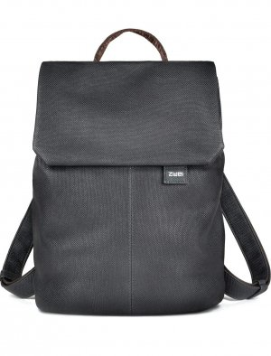 Zwei Laptop Backpack anthracite synthetic fibre