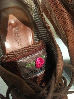 Ruco line Project , neuwertige High Heel sneakers, Leder