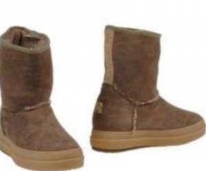RUCOLINE Fur Boots light brown suede