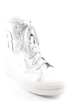 RUCOLINE Wedge Sneaker wollweiß extravaganter Stil