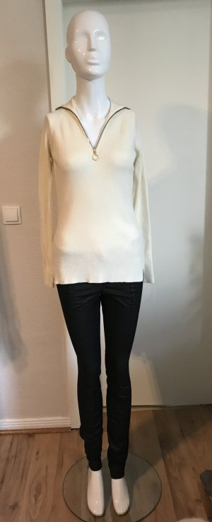 Rue de Femme Jersey de lana blanco puro