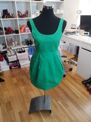 Zara vestido de globo verde