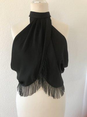 Asos Rugloze top zwart