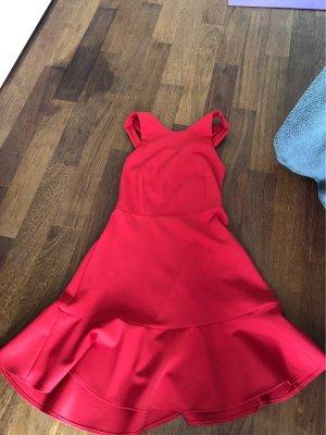 Zara Woman Mini vestido rojo