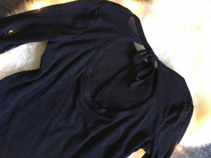 H&M Long Shirt black