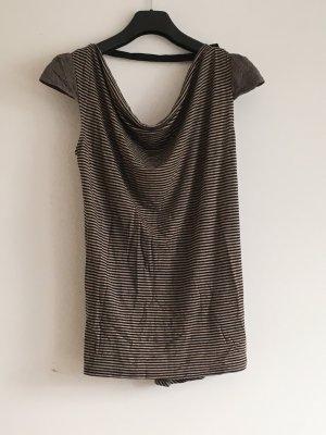 Rückenfreies Shirt, gestreift von Liu Jo