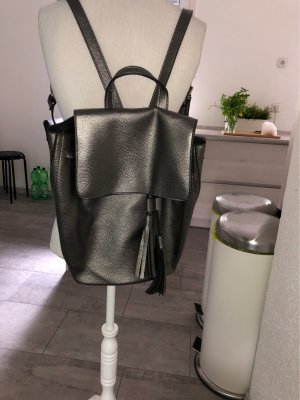Trekking Backpack silver-colored