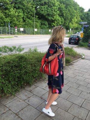 Borse in Pelle Italy Sac à dos pour ordinateur portable rouge brique cuir