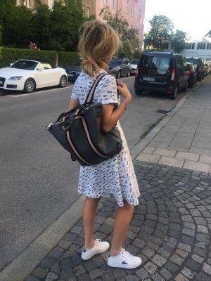 Rücksack Lederrücksack Handtasche 2 in 1 grau neu