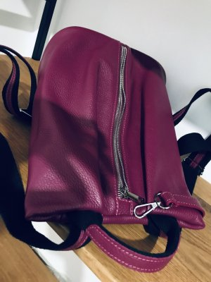 Borse in Pelle Italy Sac à dos collège violet