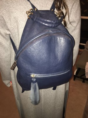 Coccinelle Backpack dark blue