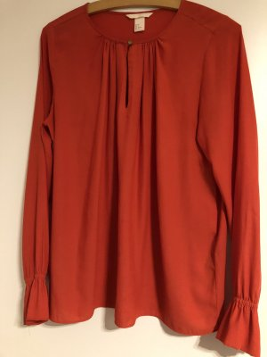 H&M Slip-over Blouse red