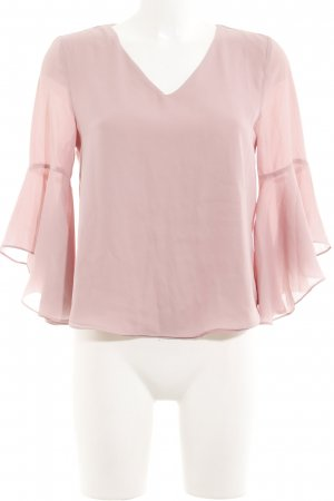 Love & Other Things Rüschen-Bluse altrosa Casual-Look