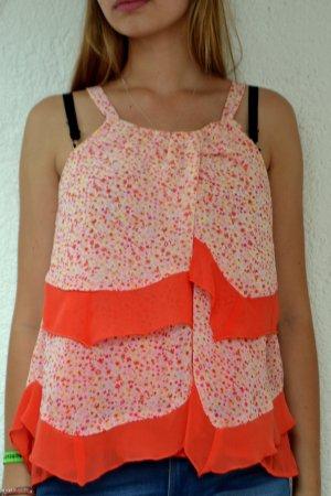 Rüschen-Bluse mit Blumenprint :)