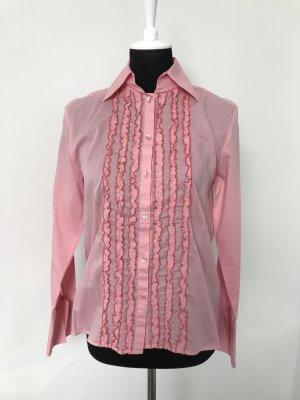 Rüschen Bluse rosa Otto Kern Gr. S