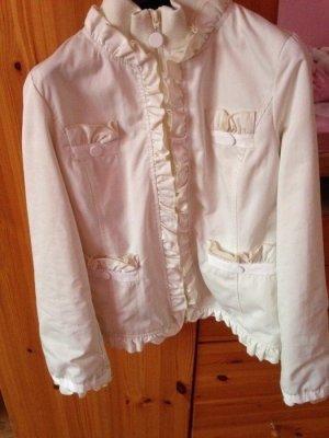 Love Moschino Blouson bianco-bianco sporco Tessuto misto