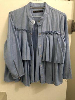 Rüschen-Volants-Bluse