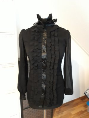 GLoockler Ruffled Blouse black polyester