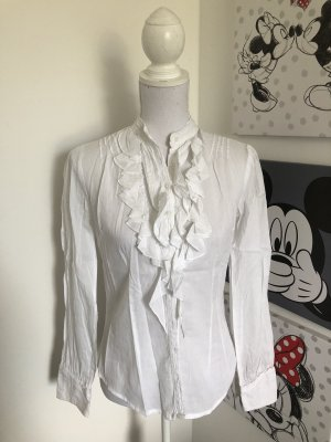 Avanti Ruffled Blouse white