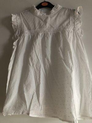 Kiabi Woman Camicetta con arricciature bianco-bianco sporco