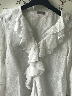 van Laack Camicetta con arricciature bianco