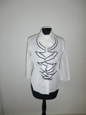 Rüschenbluse Designerbluse Anne Fontaine 34/36