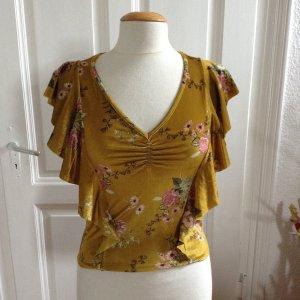 Stradivarius Carmen shirt veelkleurig Polyester