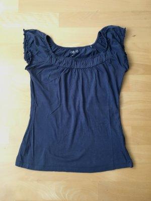 Zero Camiseta gris pizarra-azul aciano