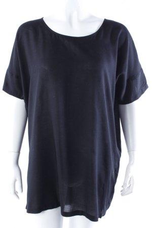 Rütme Longshirt schwarz