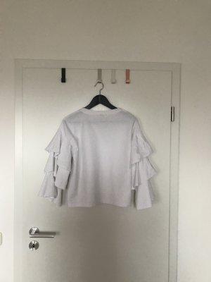 Ruffle Sweatshirt von H&M