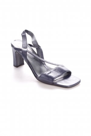 Ruimar Strapped High-Heeled Sandals petrol casual look