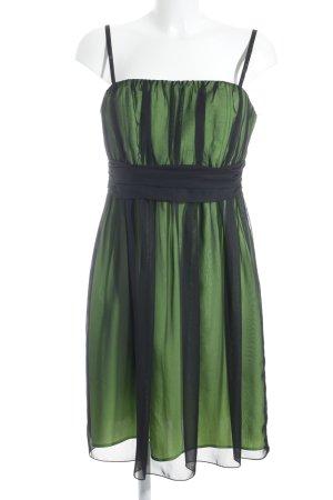 Ruis Collection Abito scamiciato verde-nero elegante