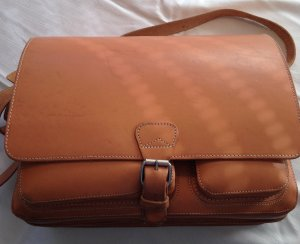 College Bag beige leather
