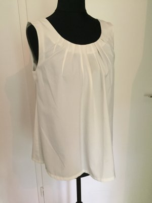 Rules by Mary Bluse Top S weiss super Schnitt Blogger