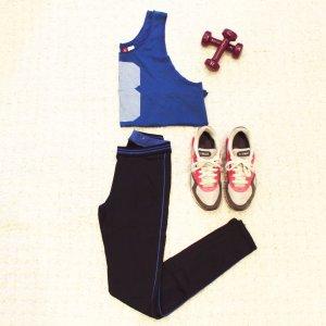 Run Baby, run! | Hochwertige Laufhose mit Seitenstreifen von Zara