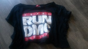 run dmc cropped top