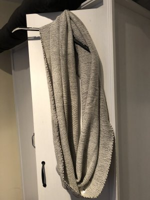 H&M Snood white-black