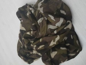 Rund Schal in Tarnfarben