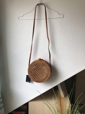 Mango Crossbody bag brown-light brown