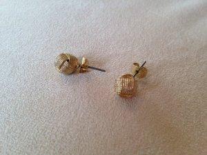 Runde Ohrstecker in Goldoptik ungetragen von H&M