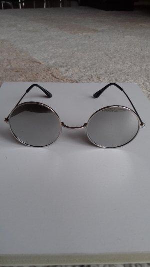 Glasses silver-colored